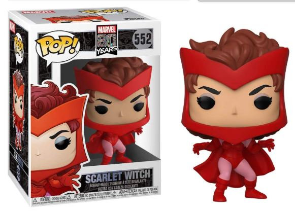 Pop! Marvel 80 Years Vinyl Bobble-Head Scarlet Witch (First Appearance) #552