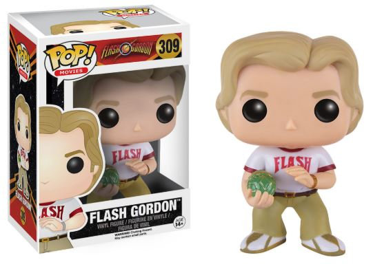 Pop! Movies Flash Gordon Vinyl Figure Flash Gordon #309 (Vaulted)