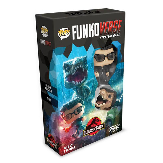 Funkoverse - Jurassic Park 101 2-pack Expandalone Strategy Board Game