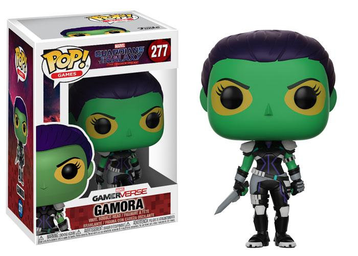 Pop! Games Guardians of the Galaxy: The Telltale Series Gamora #277 (Vaulted)