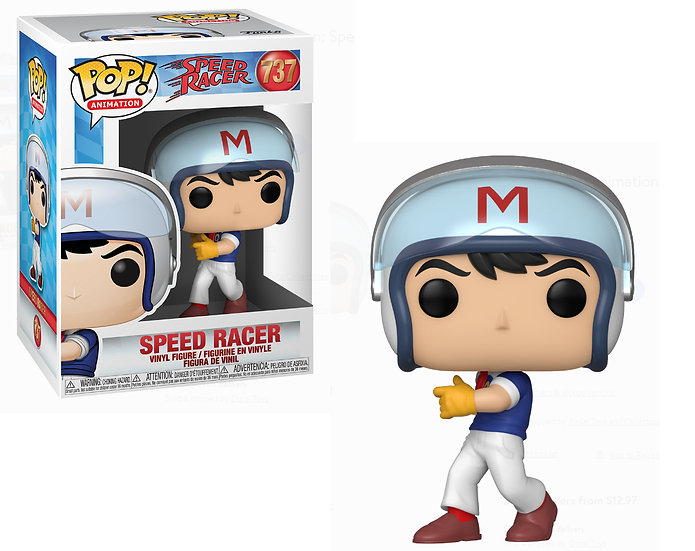 Pop! Animation Speed Racer Vinyl Figure Speed Racer #737