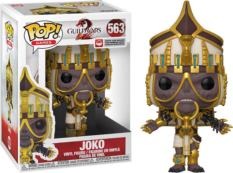 Pop! Games Guild Wars 2 Vinyl Figure Joko #563