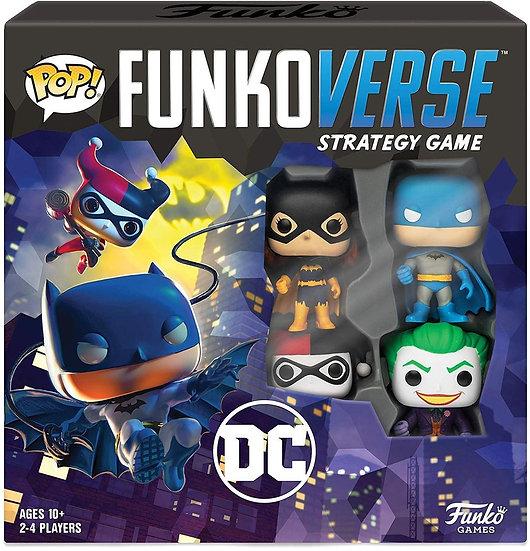 DC Comics POP! Funkoverse 100 Strategy Board Game Base Set