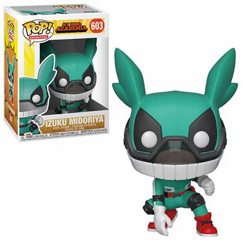 Pop! Animation My Hero Academia Vinyl Figure Izuku Midoriya #603