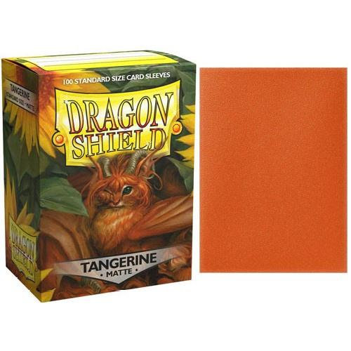Dragon Shields: Matte Card Sleeves (100): Tangerine