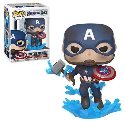 Pop! Marvel Avengers Endgame Vinyl Bobble-Head Captain America #573