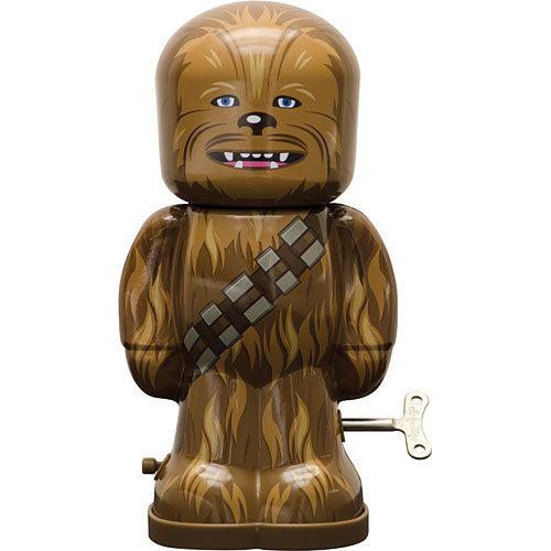 Star Wars Chewbacca Wind-Up Tin Toy