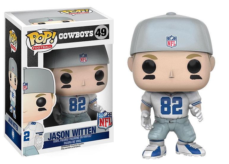 Pop! Football NFL Vinyl Figure Jason Witten (Dallas Cowboys) #49 (Vaulted)