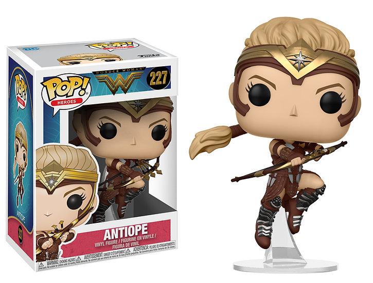 Pop! Heroes Wonder Woman Vinyl Figure Antiope #227 (Vaulted)