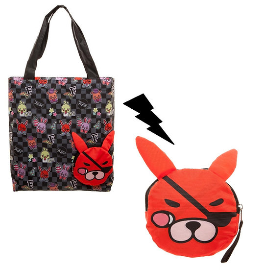 Five Nights at Freddy's Foxy Packable Tote Bag