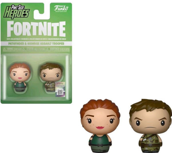 Pint Size Heroes: Fortnite S1a - Pathfinder & Highrise Trooper