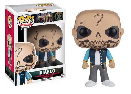 Pop! Heroes Suicide Squad Vinyl Figure Diablo #103 (Vaulted)