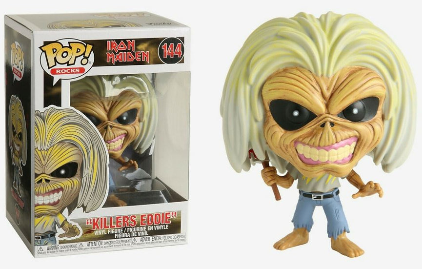 Iron Maiden Eddie Killers Funko Pop Rocks Vinyl Figure #144
