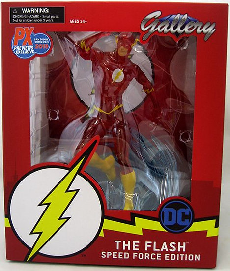 DC Gallery 9 Inch Statue Figure The Flash - Speed Force Flash SDCC 2019