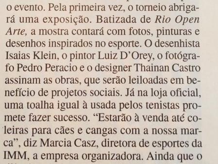 Rio Open Arte na Veja - Curadoria do RL