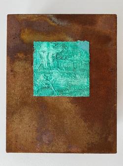 30x20cm_Série Mínima_Acrilica e oxidação