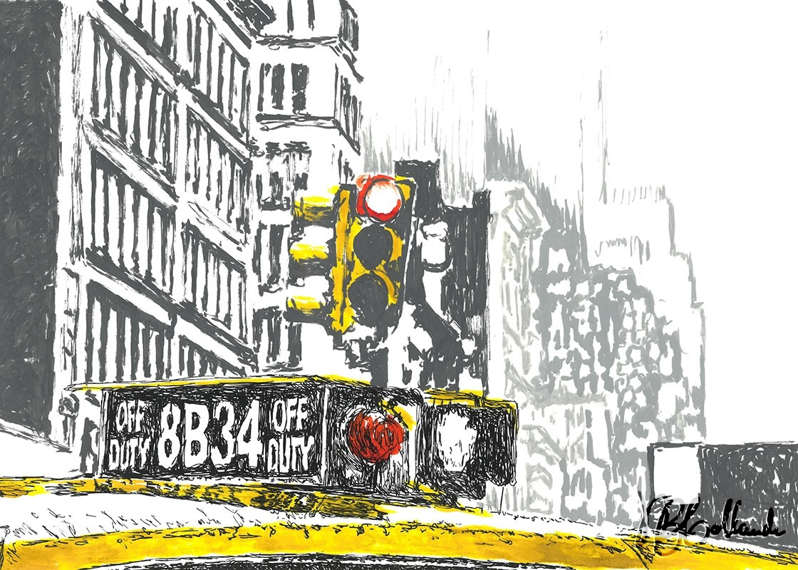 nyc-cab-and-traffic-lights