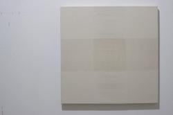 Linho e algodão sobre chassi_75x75cm