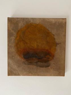 Série Anjos_30x30cm_Oxidação sobre lona