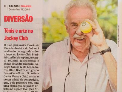 Vergara, artista principal do Rio Open - Curadoria do RL