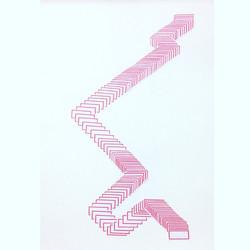 Rastros 5 - Colagem sobre papel - 30x20c