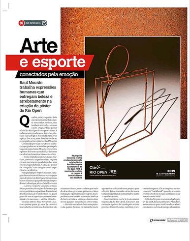 Arte e Esporte_Raul Mourão no Rio Open.j