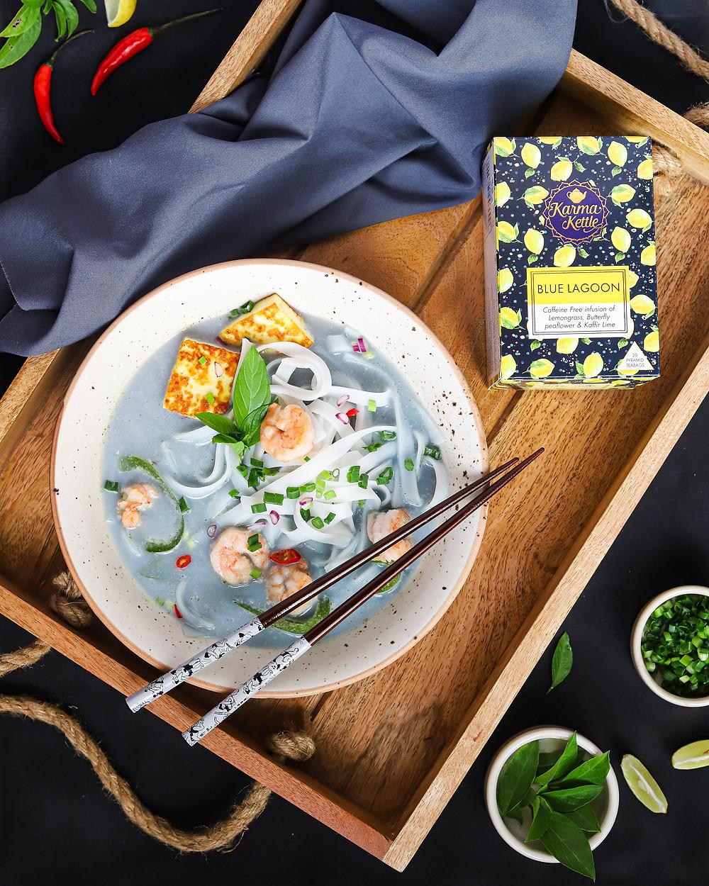 Thai flavoured noodle soup