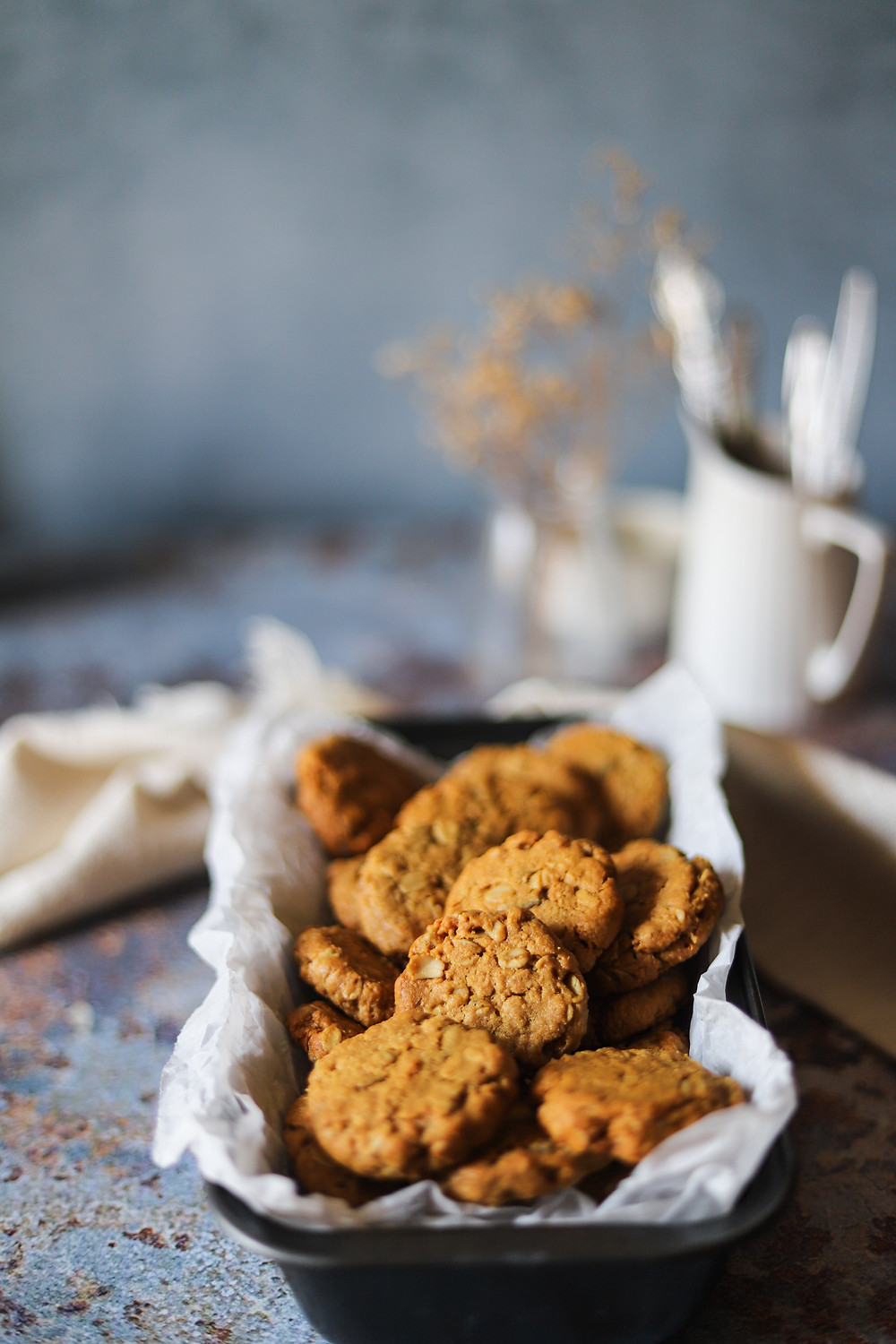 Ginger Anzac Biscuits