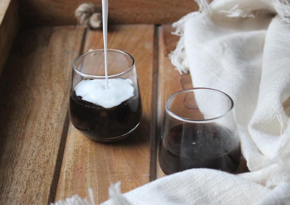 Tapioca/Sago coffee pudding