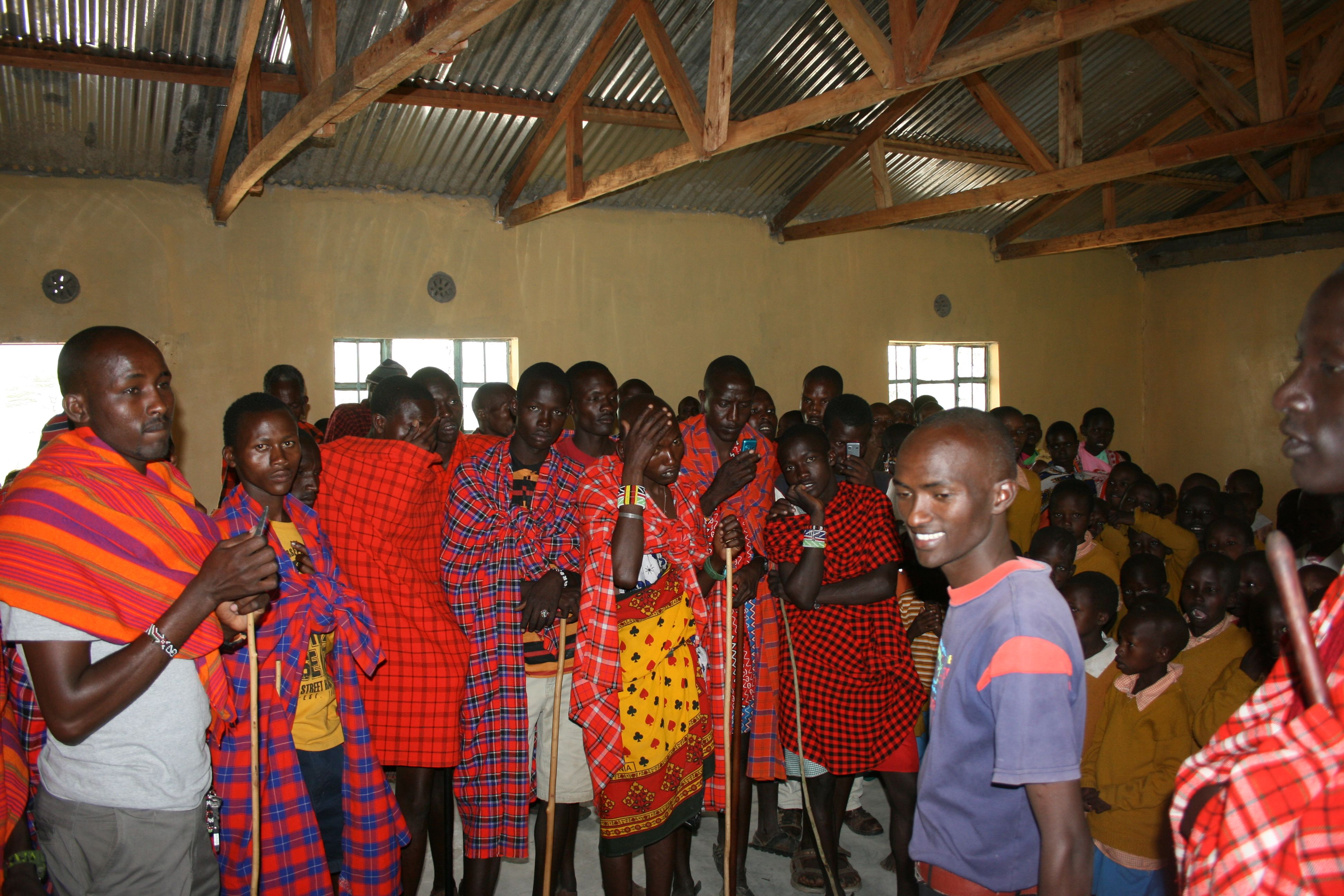 Community members admire the new classroom.jpg