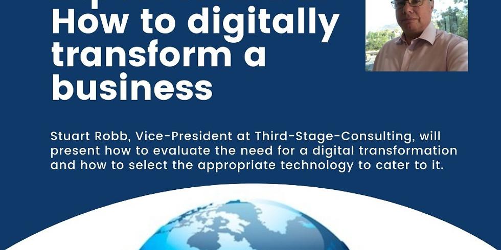 How to digitally transform a business