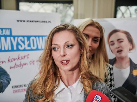 Konferencja prasowa XI edycji Konkursu Młodzi w Łodzi – Mam Pomysł na Start – up