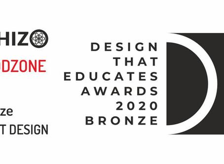 Brązowy medal w międzynarodowym konkursie Design that Educates Awards