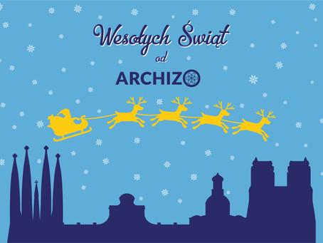 Wesołych Świąt życzy Archizo