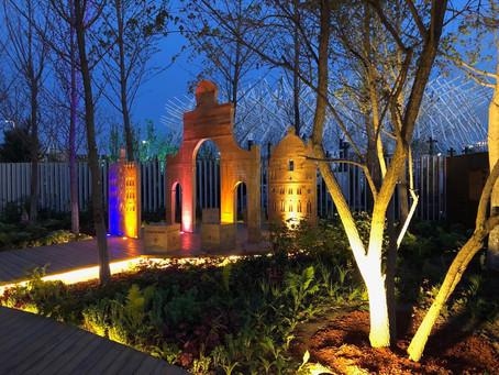 Instalacja Archizo na Horticultural Expo 2019 w Pekinie