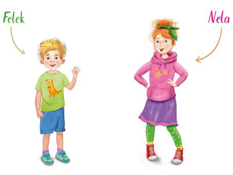 Poznajcie Nelę i Felka – bohaterów Archizo