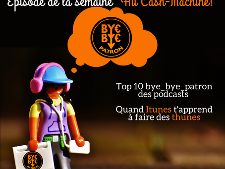 Hit Cash Machine - Top 10 Podcast - Immo, Bourse, Business, Dev perso