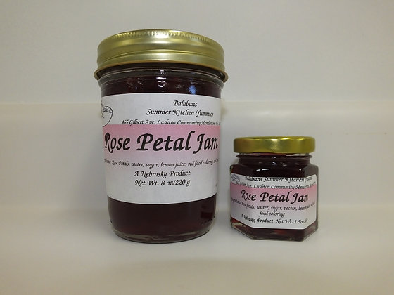 Rose Petal Jam - 1.5oz.