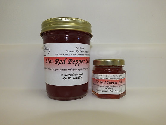 Hot Red Pepper Jelly - 1.5oz.