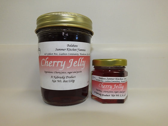 Cherry Jelly - 1.5oz.