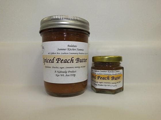 Spiced Peach Butter - 8oz.