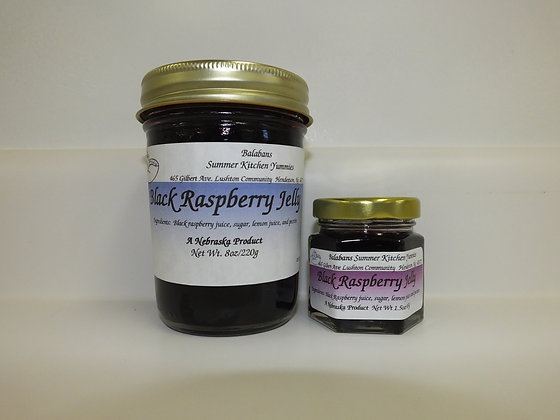 Black Raspberry Jelly - 8oz.