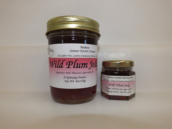 Wild Plum Jelly - 8oz.