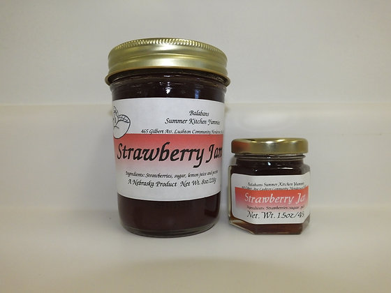 Strawberry Jam - 1.5oz.