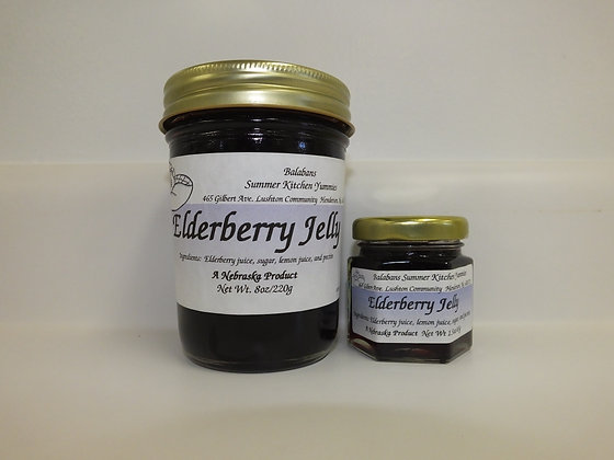 Elderberry Jelly - 1.5oz.