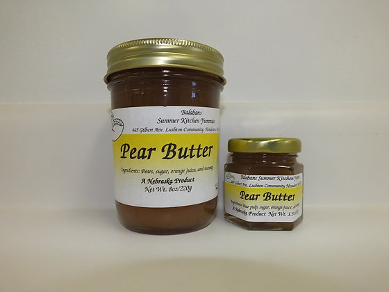 Pear Butter - 1.5oz.