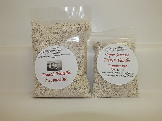 French Vanilla Cappuccino - 3 Servings