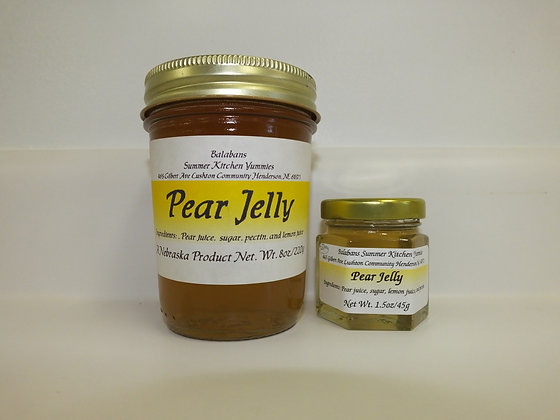 Pear Jelly - 8oz.