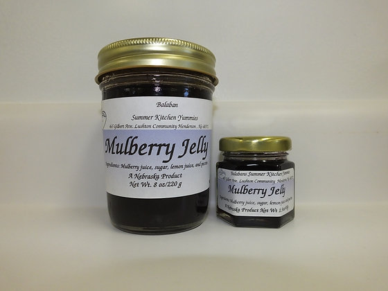 Mulberry Jelly - 8oz.