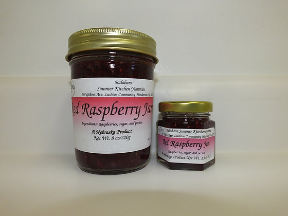 Red Raspberry Jam - 1.5oz.